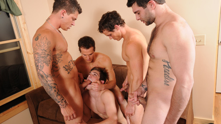 orgy gay videos Orgy Of Men Fuck Each Other After A Party.
